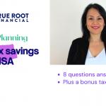 Tax savings with HSA
